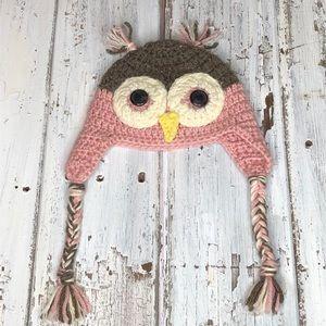Owl Crocheted🦉 Beanie